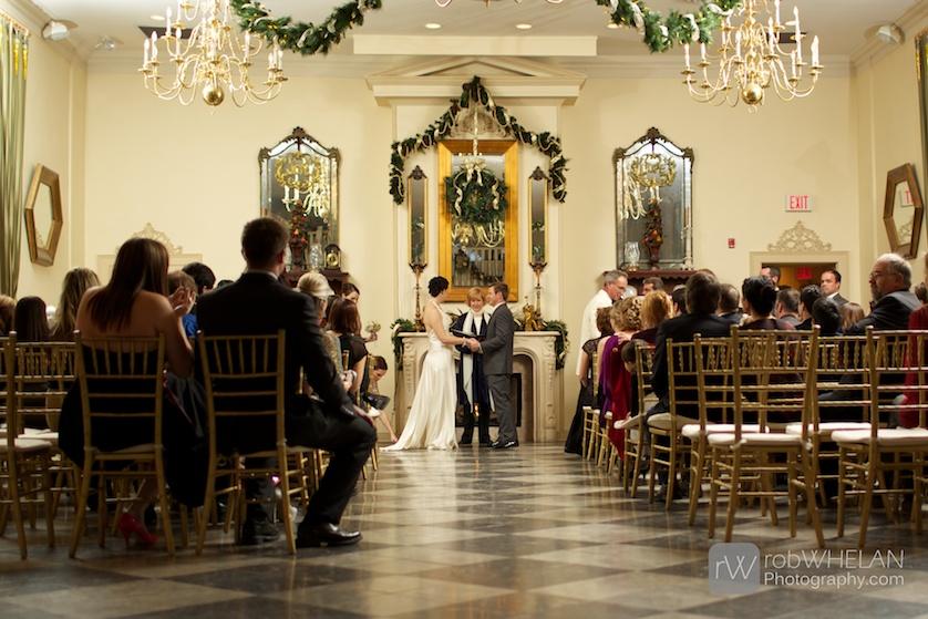 D Renaissance Event Venue Kingston Ontario Wedding Rob Whelan Photography 13 Ceremony Winter