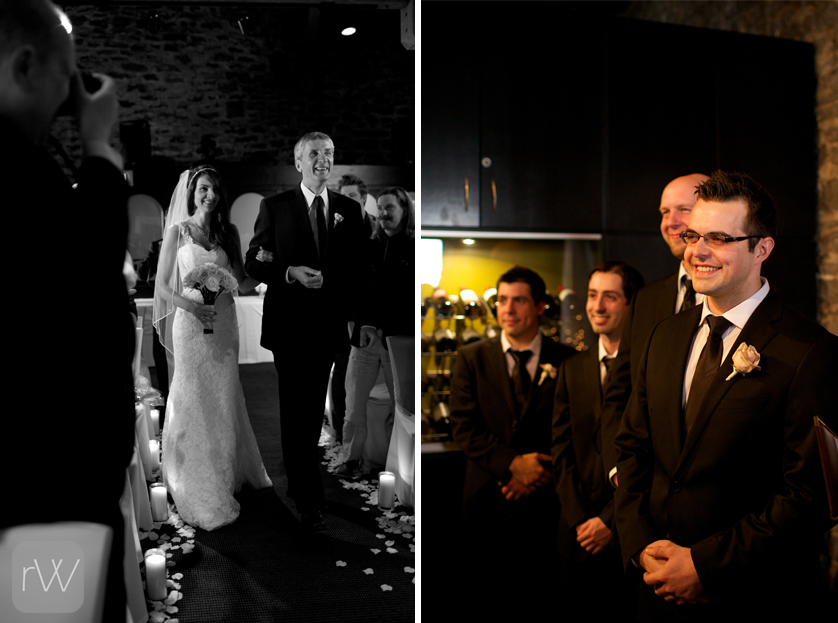 ceremony_bride_fob_groom_aisle_documentary_wedding_photography_photojournalism_ottawa_courtyard_restaurant
