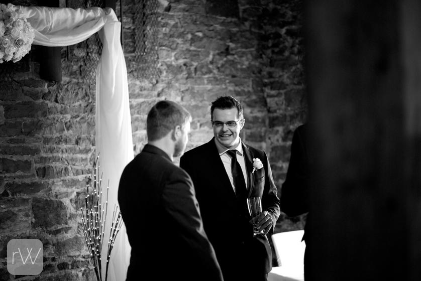 guys_getting_ready_pre_ceremony_beer_documentary_wedding_photography_photojournalism_ottawa_courtyard_restaurant